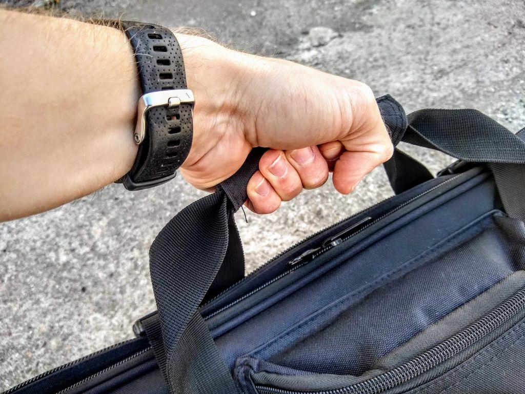 uchwyt walizkowy w pokrowcu Gun Bag V2