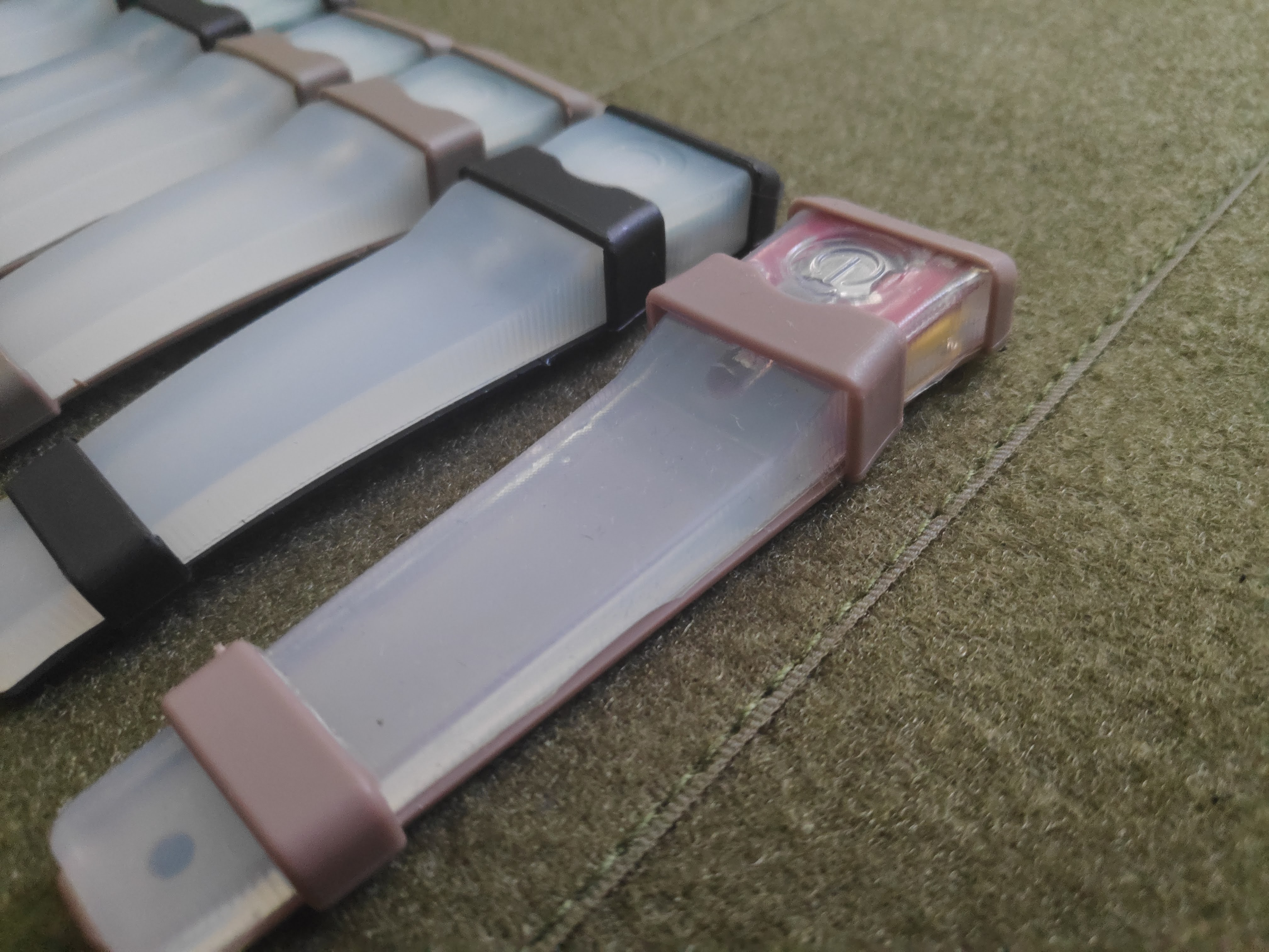 electronic markers housing