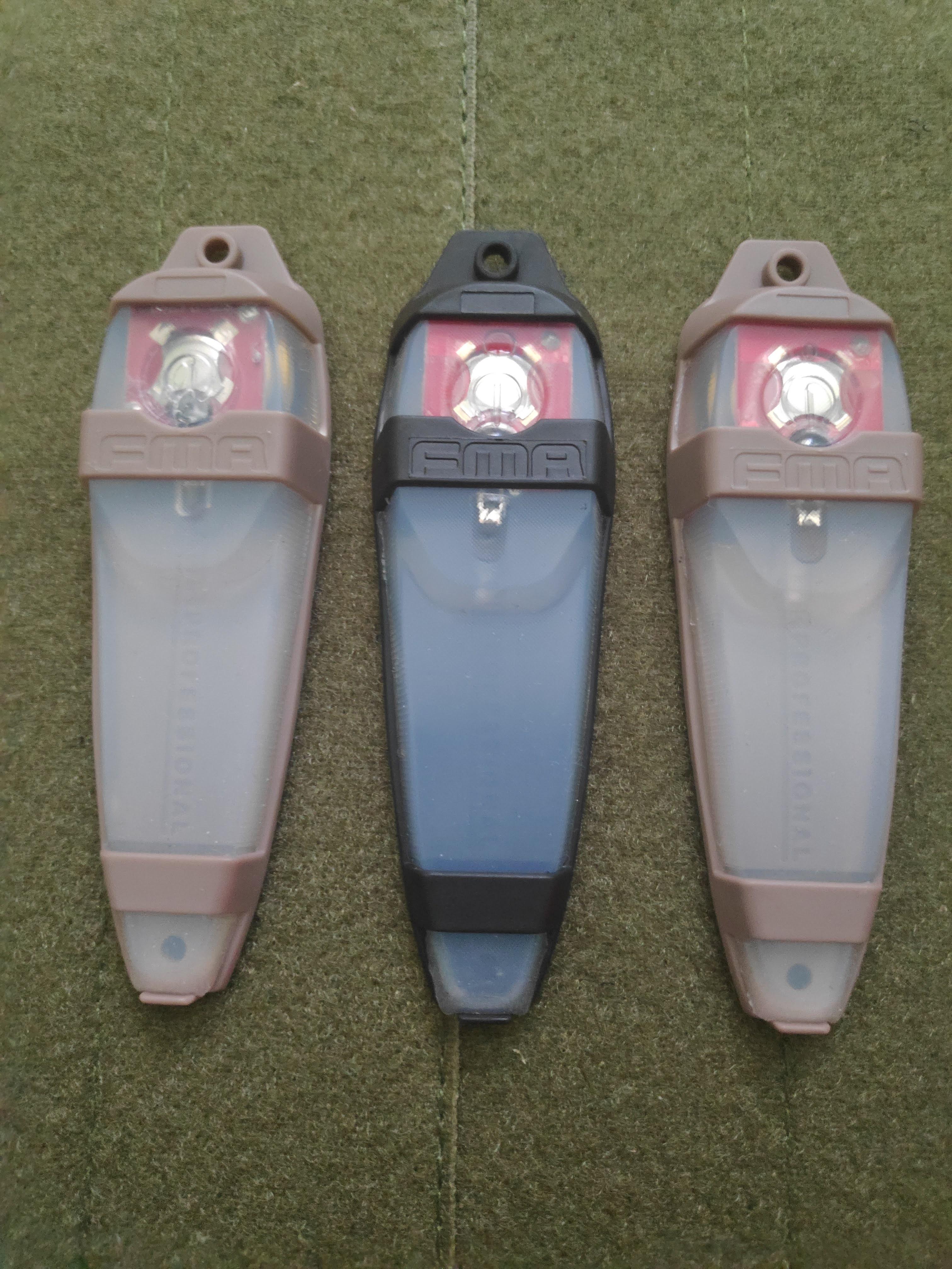 electronic markers e light