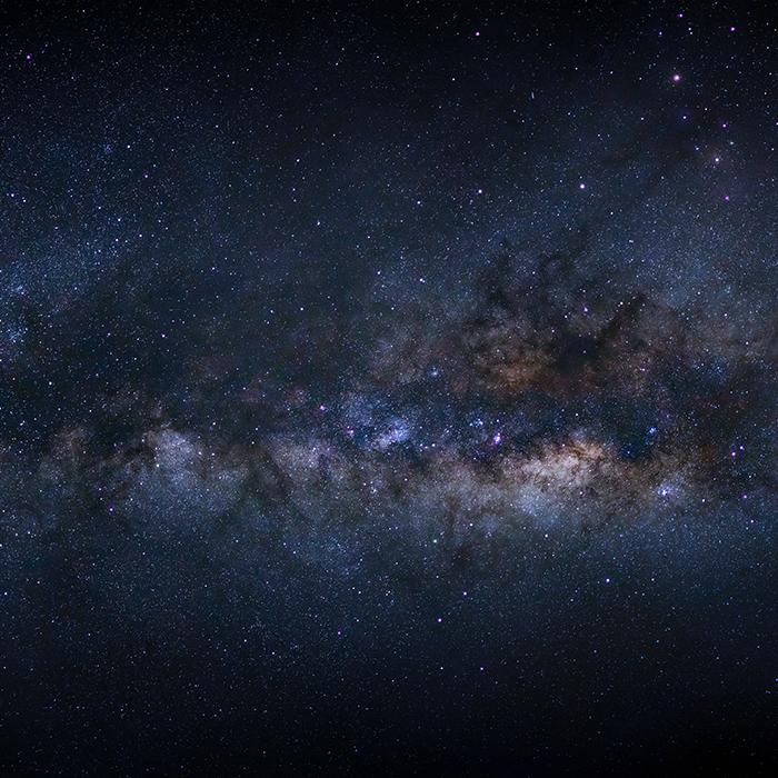 zdjęcie gwiaździstego nieba