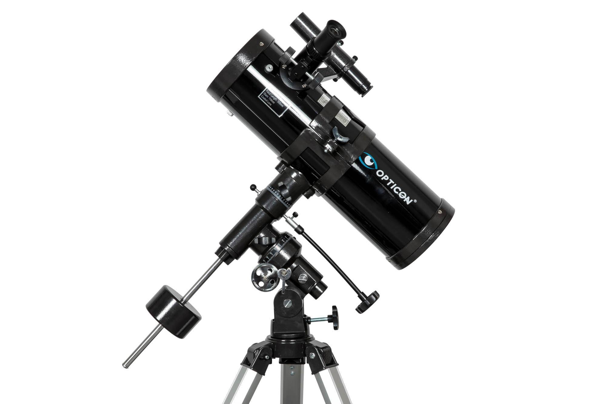 teleskop zwierciadlany opticon z montażem paralaktycznym