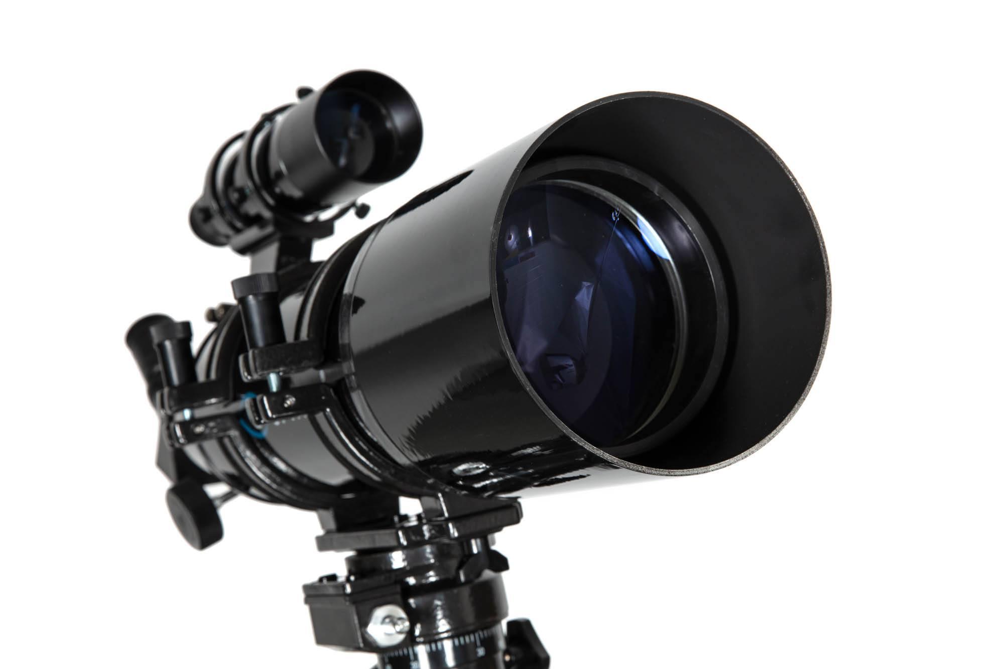średnica obiektywu teleskopu space traveler od marki Opticon