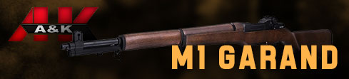 New hot product - M1 Garand from A&K!