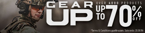 Gear Up Sale at Gunfire!