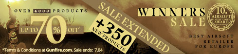 Winners Sale extended!