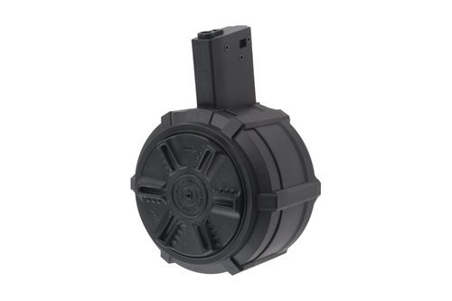 2300rd Drum Magazine for M4/M16 replicas (auto winding)