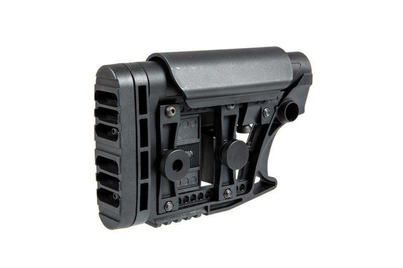 Adjustable stock for M4/M16 type replicas - black