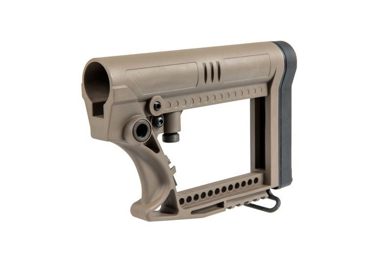 Adjustable stock for M4/M16 type replicas - dark earth