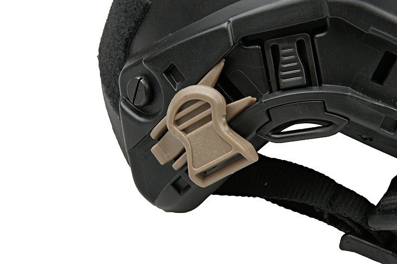 Goggle Swivel Clips (19mm) - dark earth