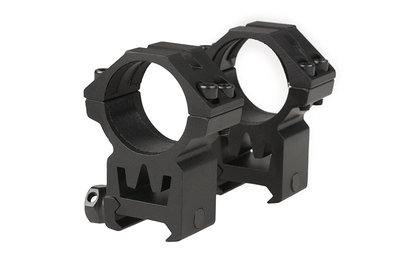 Two-part 30mm optics mount for RIS rail (high)